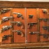 Custom Pistol Display Cabinet
