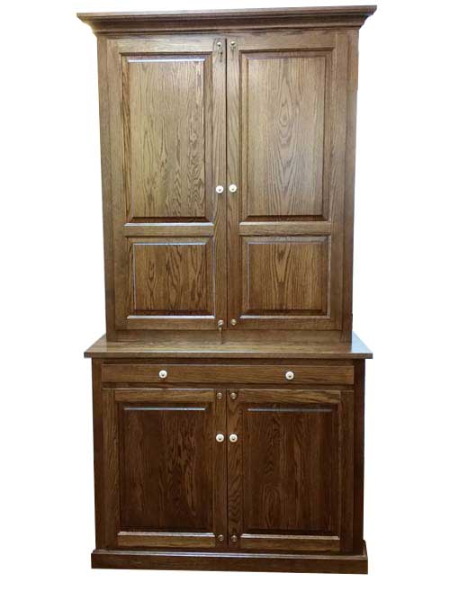 12-long-gun-solid-door-gun-cabinet-with-  sc 1 st  Amish Custom Gun Cabinets & Musser 12 gun cabinet - Amish Custom Gun Cabinets