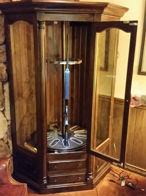 Custom Gun Cabinets Amish Custom Gun Cabinets