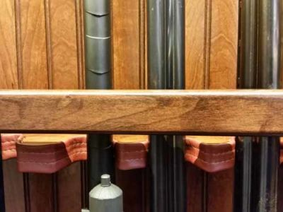 brandjes Rustic Cherry 12 gun cabinet