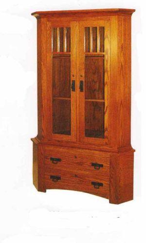 Amish-custom-Gun-Cabinet-corner-mullion