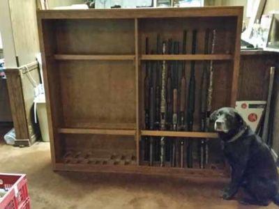Ferrel 26 gun custom Floor cabinet
