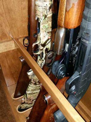 Ferrell 26 gun custom floor cabinet