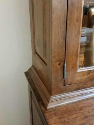 Brandjes Flush Inset Rustic Cherry Door