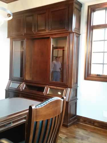 how to build a gun cabinet youtube