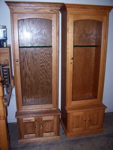 Amish Custom Made 6 Gun Cabinet