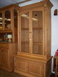 Amish Custom Gun Cabinet 9 Gun