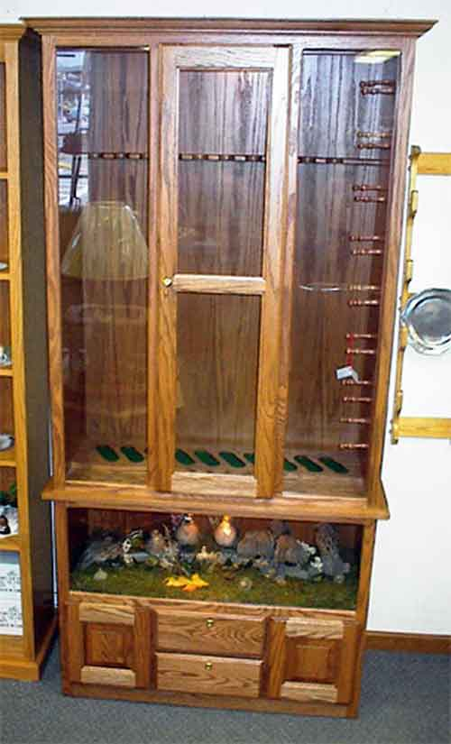 measurements for gun cabinet 1