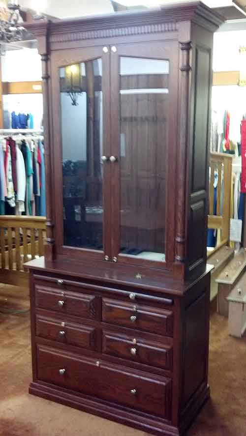 Amish Custom Gun Cabinet Idea Gallery Amish Custom Gun