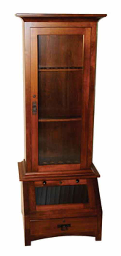 Amish Gun Cabinets In Standard Designs Amish Custom Gun
