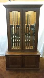 Amish 12 Gun Cabinet