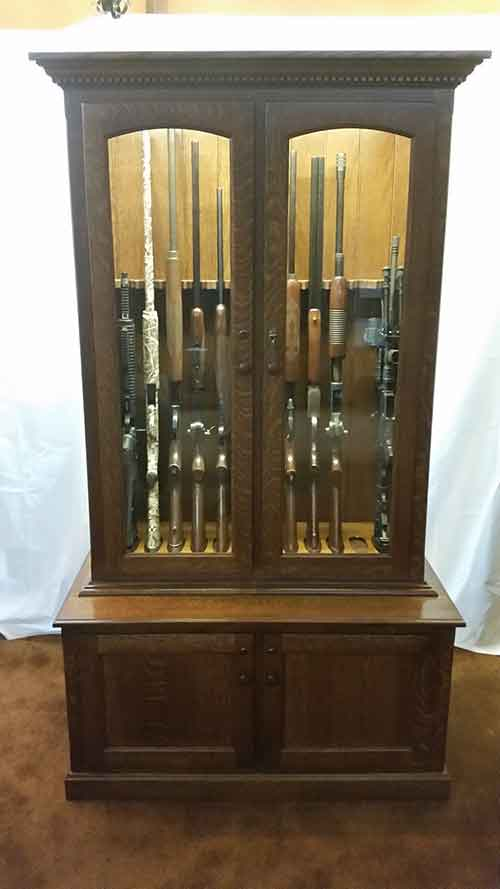 Incroyable Amish 12 Gun Cabinet