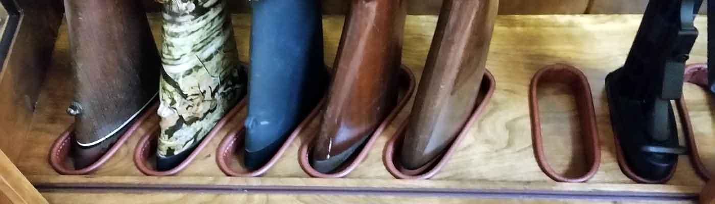 Amish Custom Gun Cabinets