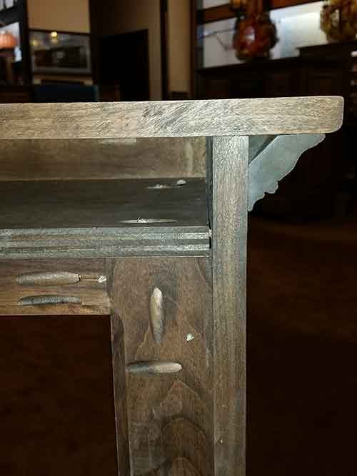 Amish Custom Rustic Cherry 14 Pistol Wall Cabinet Amish