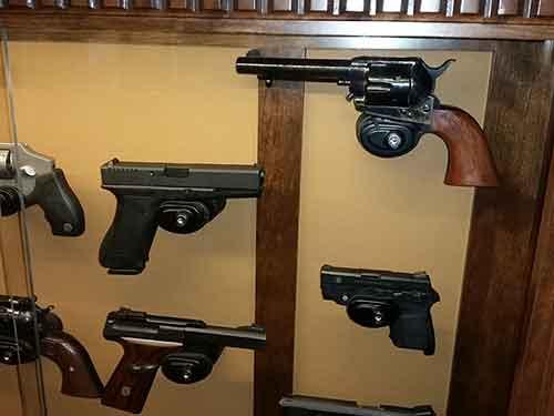 Amish Custom Pistol Displays Amish Custom Gun Cabinets