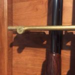 Custom brass barrel brace