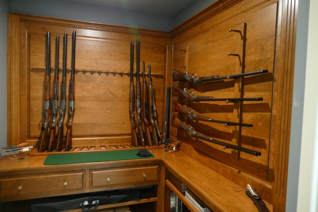 Custom Gun and Safe Room - Amish Custom Gun Cabinets