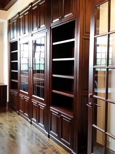 Vh Wall Built In Gun Cabinet Bookcase