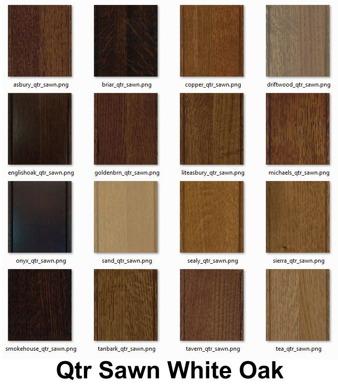 Stain Colors Amish Custom Gun Cabinets